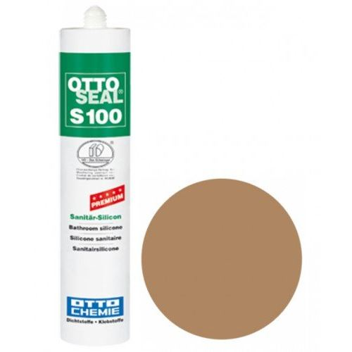 OTTO CHEMIE OTTOSEAL S100 Caramel (C09) interne couleur Mastic Silicone