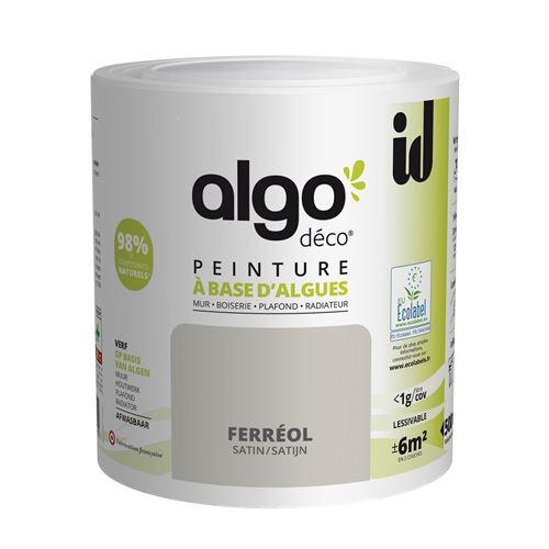 Peinture à Base D'algues Algo Satin Ferreol 500ml