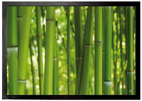 Bambous Paillasson Essuie-Pieds - Forêt De Bambou (50x70 cm)