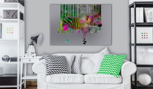 Tableau - Zoo of Modernity .Taille : 60x40