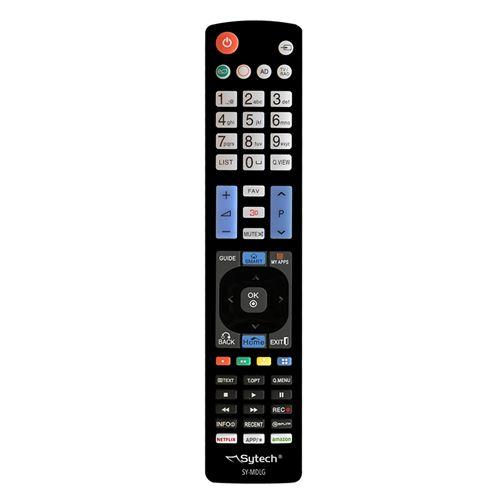 Télécommande universelle pour les téléviseurs LG, clés : Netflix, Amazon