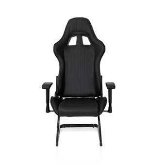 Chaise Gaming Chaise de bureau baquet SAO PAULO V simili cuir noir hjh OFFICE