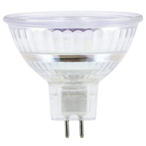 Xavax Ampoule LED, GU5.3, 350lm, 35W MR16, blanc chaud., verre