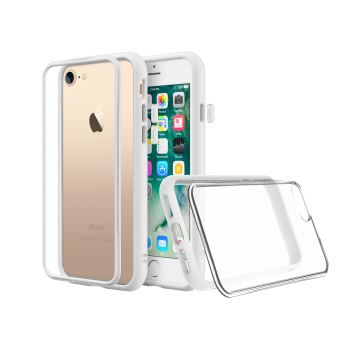 Coque Mod NX RhinoShield pour iPhone 7 8 SE 2020 Personnalisable Blanc