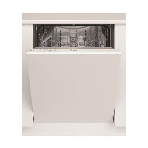 Indesit DIE 2B19 - Lave-vaisselle - intégrable - Niche - largeur : 60 cm - profondeur : 56 cm - hauteur : 82 cm - blanc