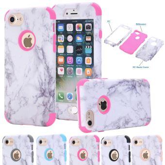 coque iphone 7 marbre rose