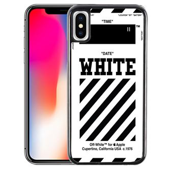 iphone xs coque off white