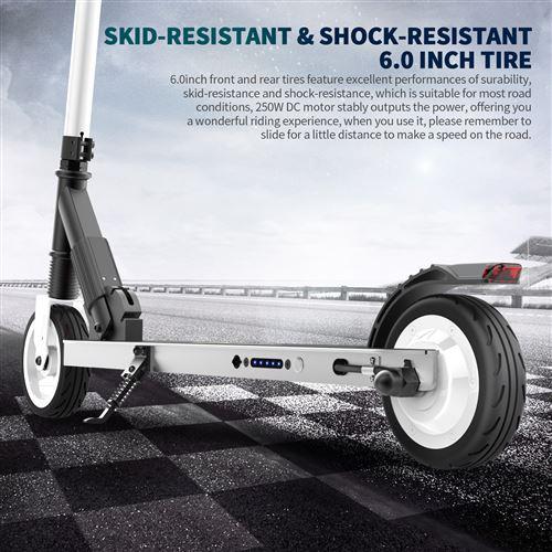 Megawheels S1 Pliant Trottinettes électriques 250W 23km//h Motor E-Scooter FR
