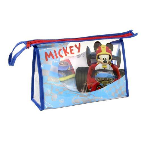 Trousse de toilette Disney Micky Mouse avec contenu 23x15,5x8 cm