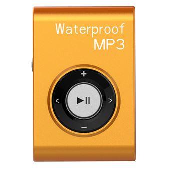 Lecteur MP3 8Go avec écouteur étanche Orange