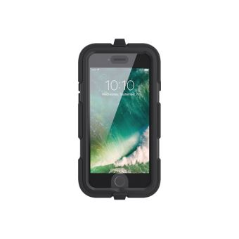 Griffin Survivor All Terrain Boitier de protection pour telephone portable robuste silicone polycarbonate PET noir pour Apple iPhone 7