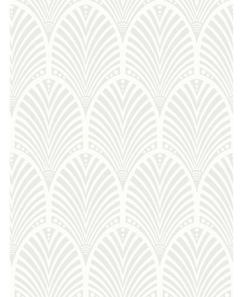 Papier Peint Gatsby Art Deco Glitter Gris Et Blanc Holden Decor