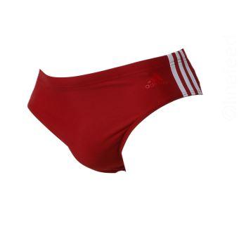 slip de bain adidas rouge