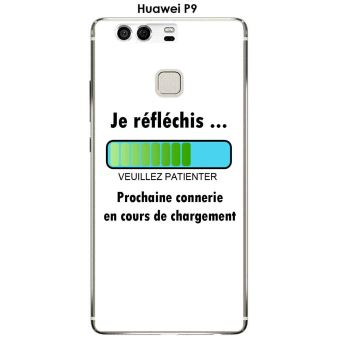 coque charge huawei p9