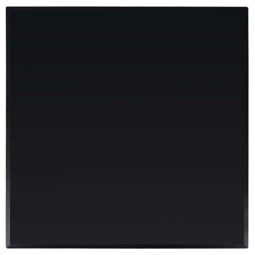 vidaXL Dessus de table carré Verre trempé 800 x 800 mm
