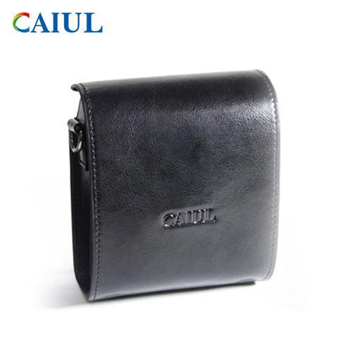 Étui de protection en cuir PU pour Fujifilm Instax Mini 90 - Noir