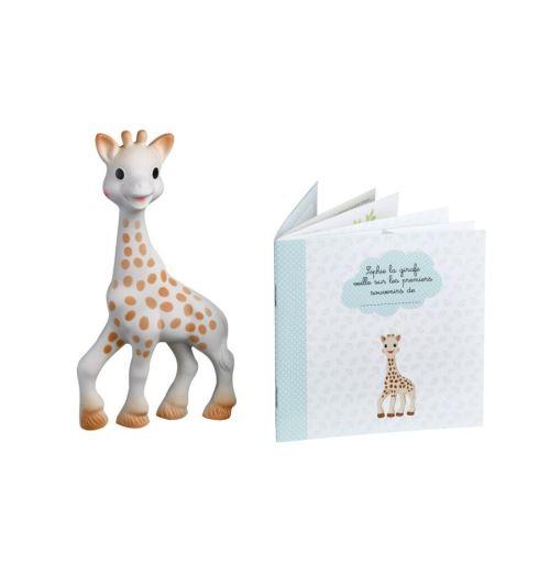 VULLI-Sophie La Girafe + Livret Mes Souvenirs