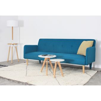 Canape Convertible Scandinave 3 Places Niels Couleur