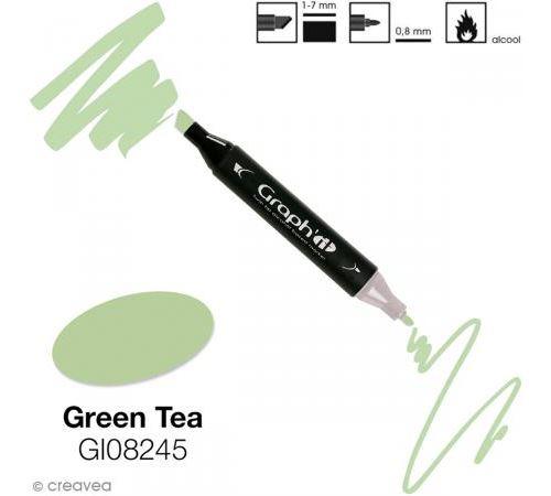 Marqueur à l'alcool graph'it 8245 green tea - graph it