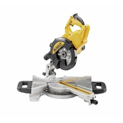 Scie à onglet radial DEWALT Ø216mm 1400W - DWS774