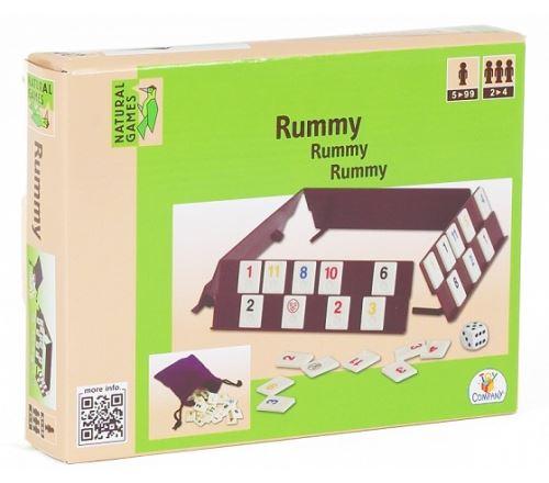 Natural games - 0026721 - jeu de société - rummy version voyage