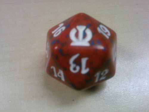 Compteur de vie MTG Spindown D20 - Theros Red