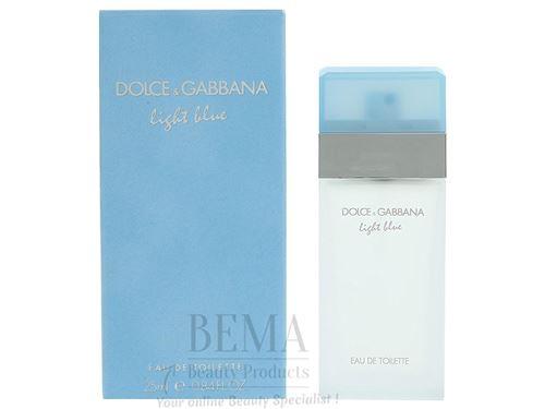 Dolce & Gabbana Light Blue Eau de coiffeuse Vaporisateur – 25 ml