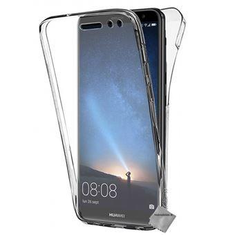 Housse etui coque silicone gel 360 integrale pour Huawei Mate 10 Lite avec film ecran - TRANSPARENT