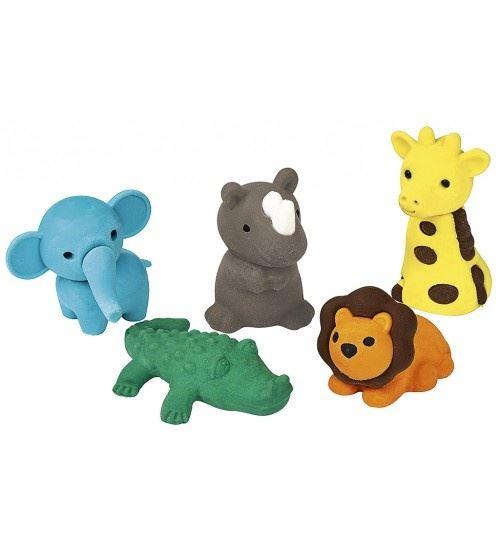Moses monde animal zoo gummenset 5 pièces 12 cm