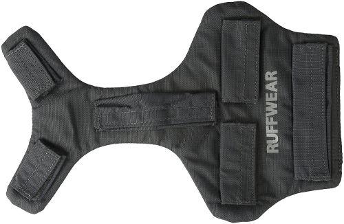 Ruffwear Protection de poitrail et de ventre pour chien, Compatible avec les harnais et sacs pour chien Ruffwear, Taille XS, Gris (Twilight Grey), Brush Guard, 3080-025S1