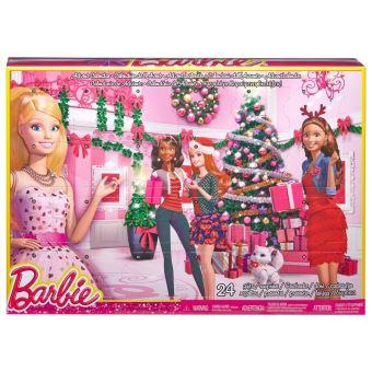 Calendrier Avent Barbie.Calendrier De L Avent Barbie Habillages Et Accessoires Mattel