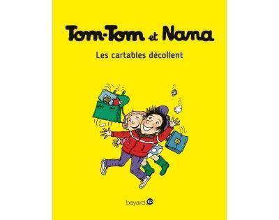 Les-cartables-decollent tom-tom et nana