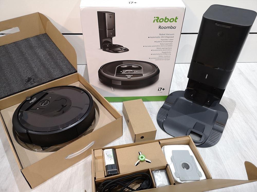 Test et avis de l'aspirateur robot Roomba i7+ et i7 d'Irobot