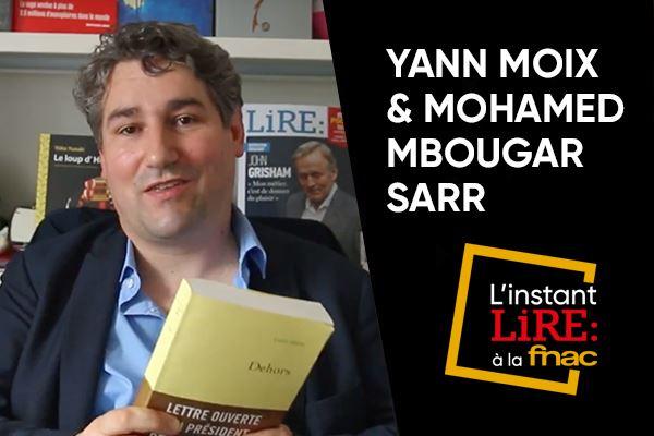 L Instant Lire A La Fnac Dehors De Yann Moix Un