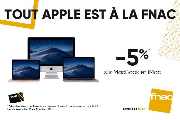offre fnac macbook