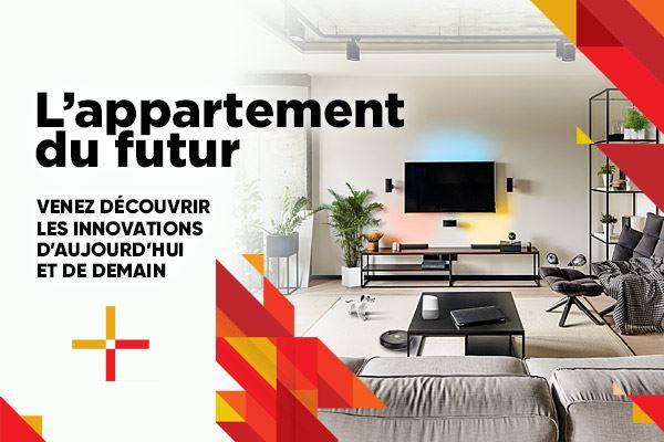 Venez découvrir notre appartement du futur !