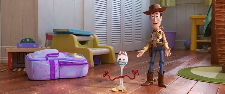 toy story 4 fourchette