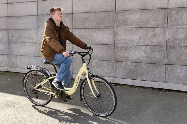 Vélo électrique Velair City CrèmeVélo électrique Velair City Crème