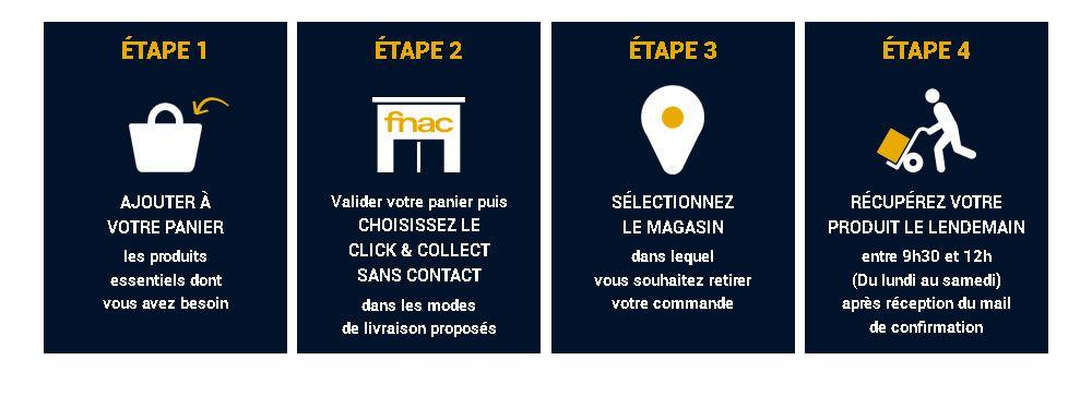 Click Collect Sans Contact Comment Retirer En Magasins Fnac En Toute Securite Conseils D Experts Fnac