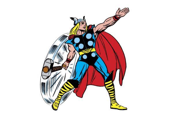 Le Dieu Thor Un Super Heros Du Tonnerre