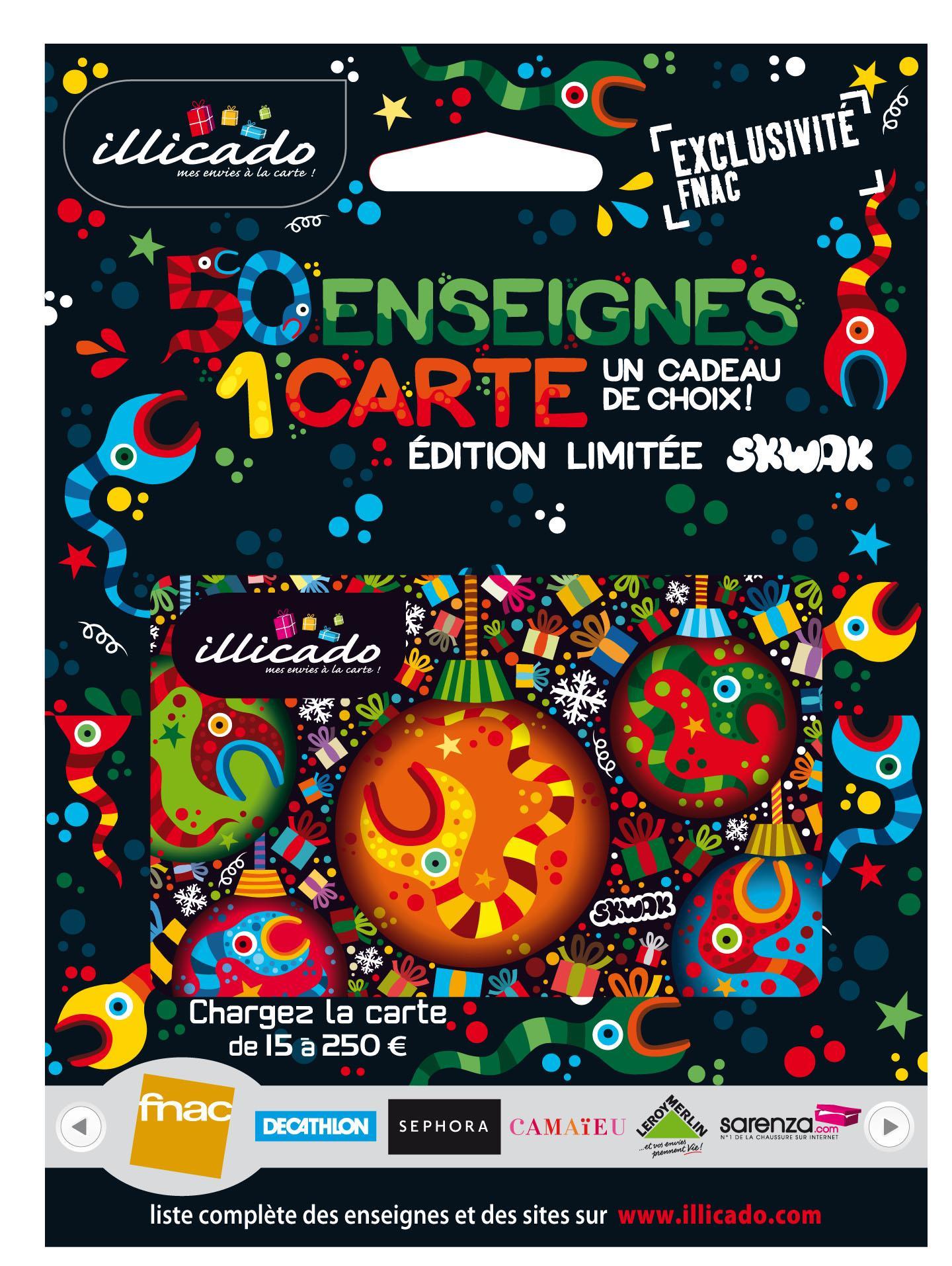 Carte Cadeau Illicado Fnac.Skwak Conseils D Experts Fnac