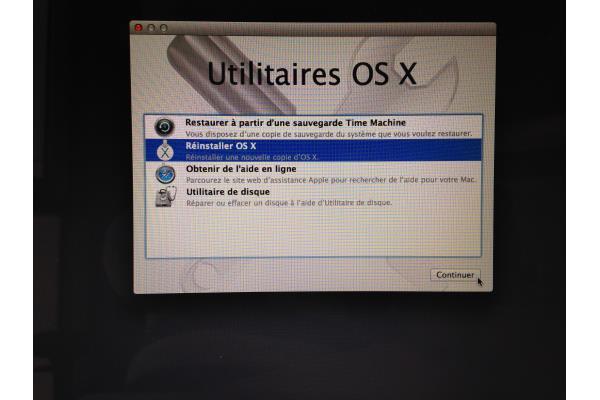 Utilitaire OS X