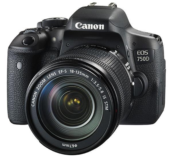 Canon EOS 750D face