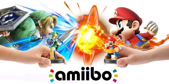 link vs mario amiibo