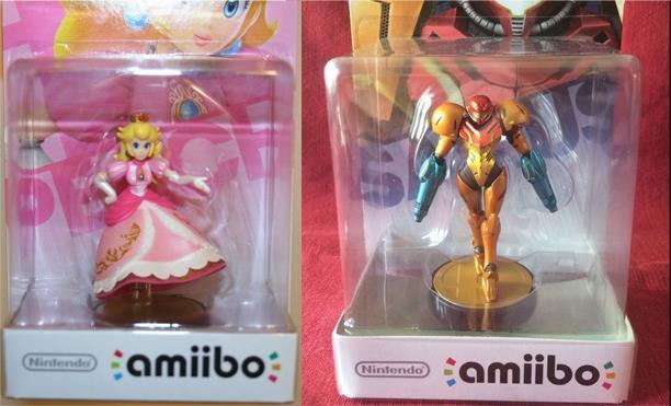 amiibo peach samus collector