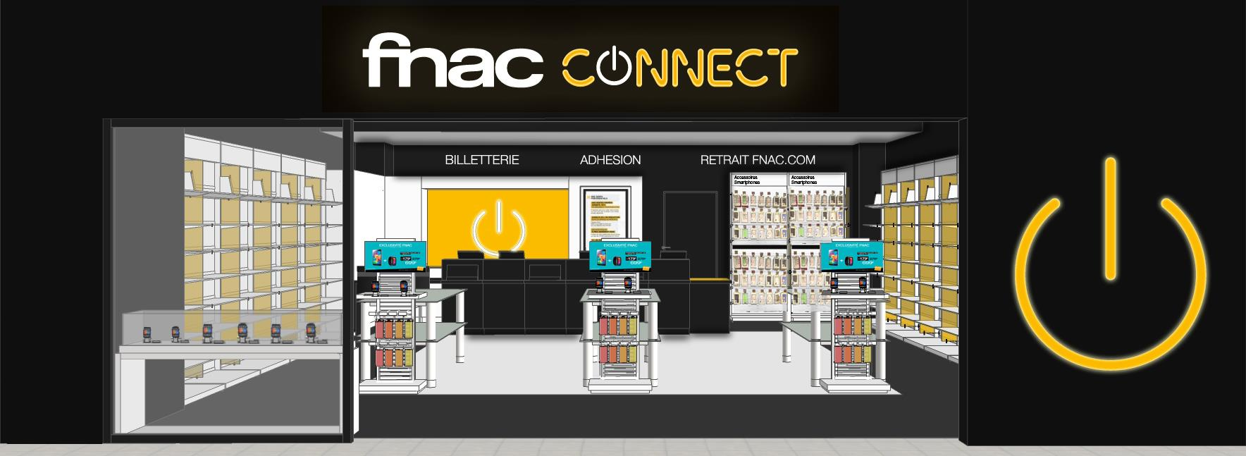 fnac connect ouvre angoul me un magasin 100 smartphones high tech et objets connect s. Black Bedroom Furniture Sets. Home Design Ideas