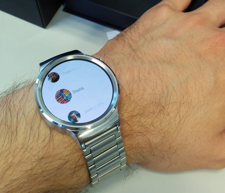 7 jours de test avec la huawei watch une tr s bonne montre sous android wear conseils d. Black Bedroom Furniture Sets. Home Design Ideas