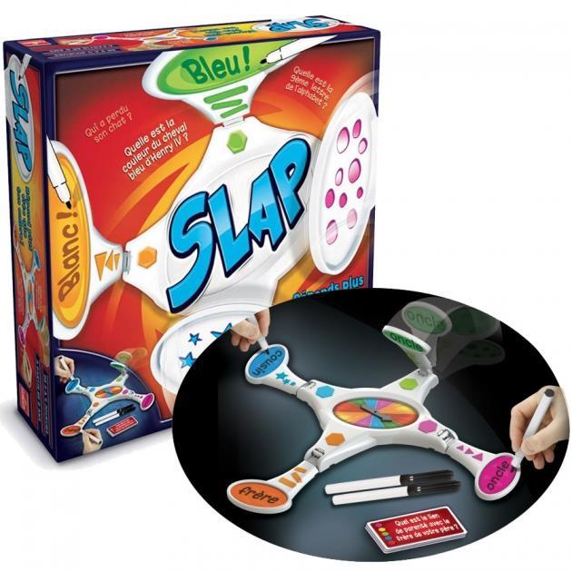 Notre s lection de jeux goliath pour no l conseils d for Slap juego de mesa