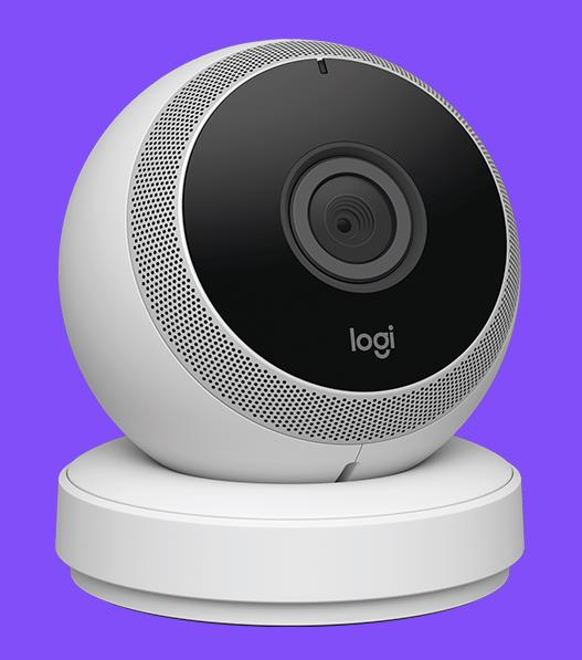 test de la logi circle une cam ra connect e pour la maison conseils d 39 experts fnac. Black Bedroom Furniture Sets. Home Design Ideas