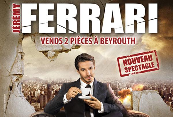 jérémy ferrari vends deux pièces à beyrouth